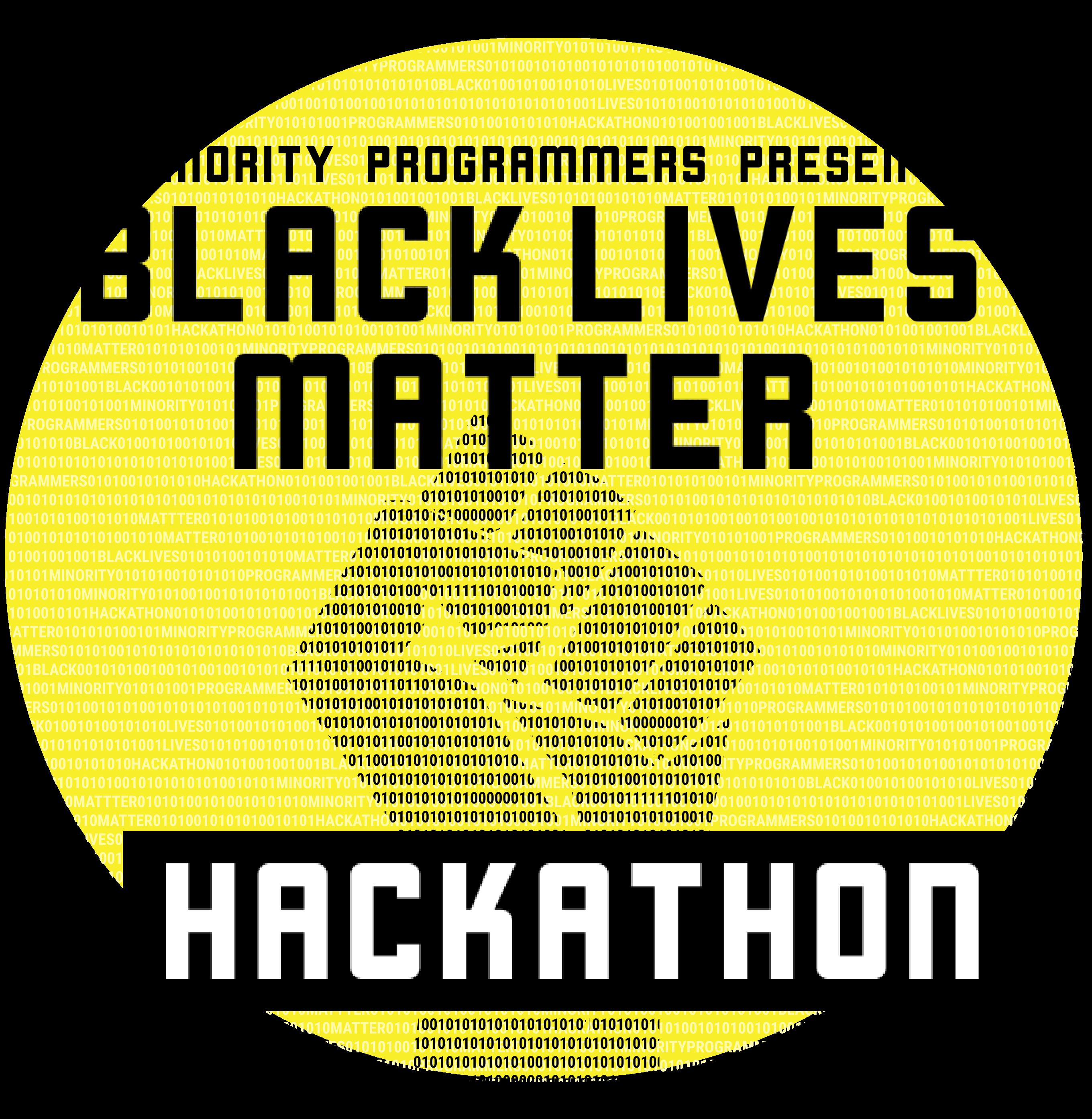 Minority Programmers Black Lives Matter Hackathon